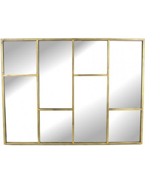 Alanis Segemented Starburst mirror
